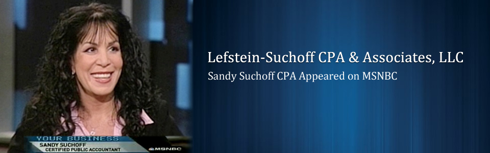 Sandy Suchoff Appeared on MSNBC